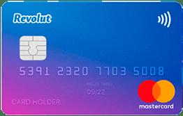Carte gratuite MasterCard Revolut