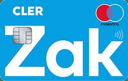 Carte Maestro ZAK
