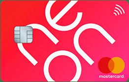 Carte MasterCard neon-free