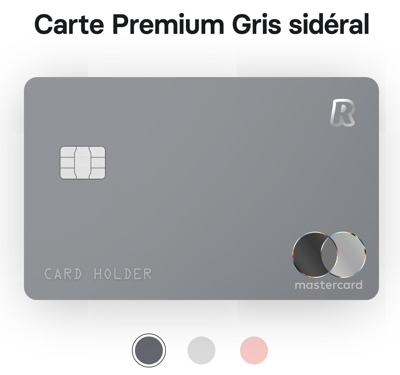 Carte Revolut Premium