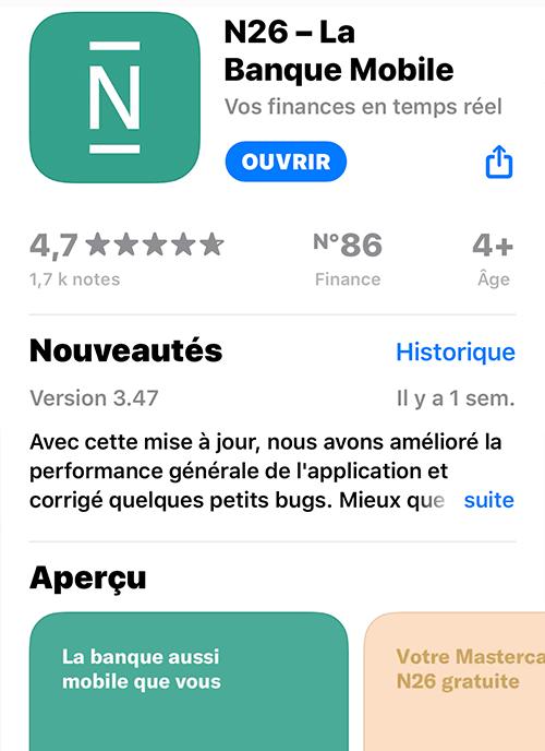 N26 - Apple Store