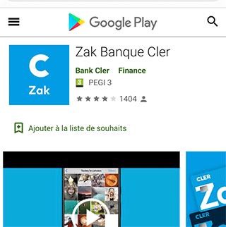 ZAK Google Play