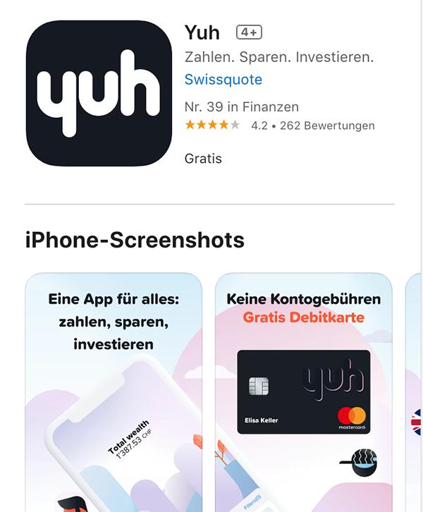 Yuh - Apple Store