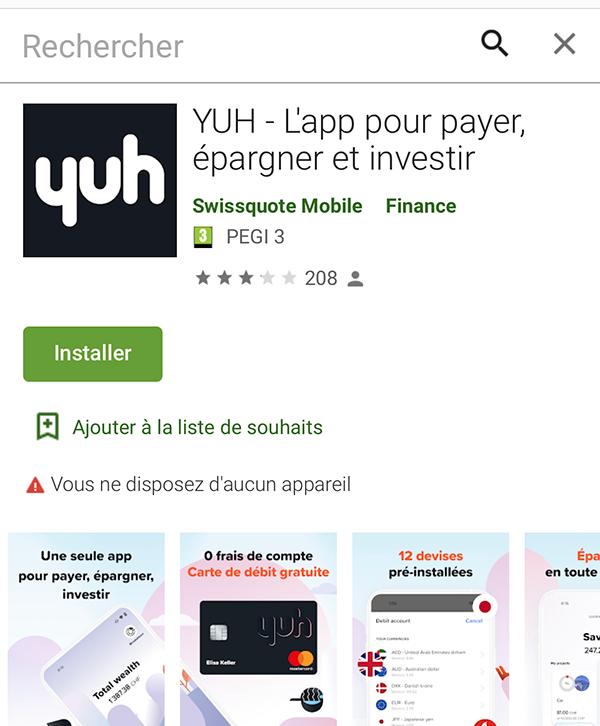 Yuh - Google Play